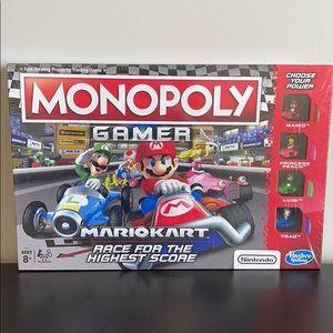 Monopoly Gamer Mario Kart NIB